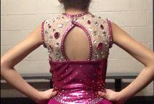 Genevieve Brunelle figure skating dresses / figure skating dresses