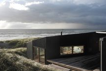 Black Wood House Architecture