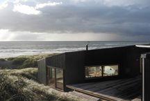Black Wood House Architecture