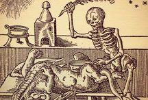 Grabados esqueletos