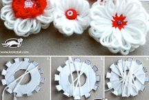 DIY and crafts(CARD BOARD FLOWER)