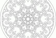 PRINTABLES, TEMPLATES, COLORING PAGES, ETC. / by Melissa Holmgren