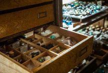 理科趣味 / 鉱物 宇宙 植物 標本 博物 驚異の部屋