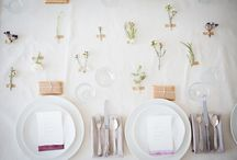 Dining:  place settings / by Shirley