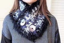 MariliartbyM scarves and cowls / Scarves, cowls and other woman accessories crocheted with yarn, inspiration and love.