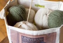 Craft and yarn storage ideas / Storage ideas and Dotty Designs' products