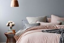 Grey & Pink bedroom