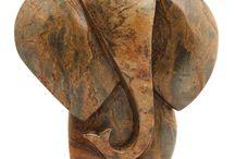 Wood Art sculptures