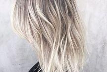 Grijs/as blond