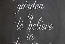 Garden Sayings and Quotes