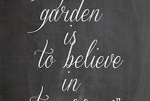 GARDEN QUOTES / #GardenQuotes #GardeningQuotes #HumphreysGRDN