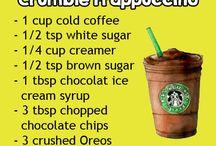 Starbucks recipes / My all time fav Starbucks drinks are now a DIY!!!