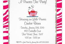 Princess tea party / by Andi Vanderford