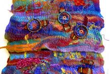 Fiber Art / A collection of art created with or on fabrics and fibers.
