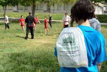 Dia deporte Parque Bruil / Sábado 24 de Mayo se celebró el día del Deporte en el Parque Bruil. El Mercado Central entregó a los participantes una bolsa con fruta.