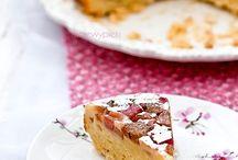 Ciasta z rabarbarem