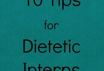 Tips for Becoming a Registered Dietitian / All sorts of fun stuff about becoming/being a registered dietitian :)