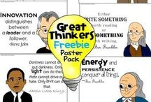 4th Grade Theme-Inventors / by Mariah Kendrick