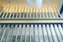stair balustrade feature