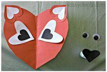 Valentine's day crafts!!