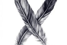 Feathers and Leaves <3