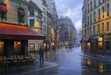 PAINTINGS - Alexey Butyrsky