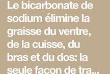 bicarbonate minceur