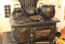 Antique Wood Stove For Kitchen. / I assembled a collection of iron cooking stoves with the 1800 - 1900s, please enjoy!