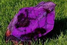 Minéraux : violet