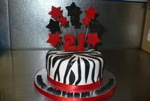 tiana 21st cakes