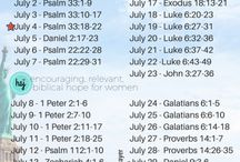 monthly Scripture writing plan