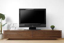 Walnut TV board / ウォールナット材のテレビボードを集めました。