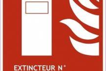 Accessoires extincteurs / Incendie