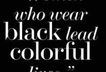 Wear black♠️