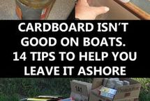 Tips for onboard living