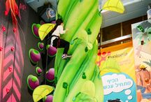Indoor playgrounds - climbing walls