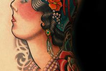 tattoo - traditional pinup