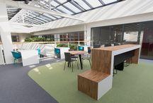 Inspiration / Inspiratie Stenden Hogeschool Nieuwbouw / Een mooie samenwerking met BRT Architecten uit Alkmaar heeft geleid tot een mooi resultaat bij Stenden Hogeschool in Leeuwarden.