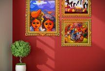 Decoración de la India / Pinturas Montana te ofrece ideas para que lleves el estilo Hindú a cualquier rincón de tu hogar.