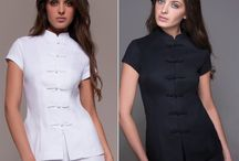 """Spa Essentials / The Spa Essentials are """"The Little Black Dress"""" of Uniforms for any professionals in the spa, wellness, cosmetic and aestethics industries."""