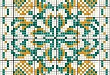 Вышивка: Бискорню - Embroidery: Biscornu / by Alkirija