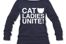 Crazy Cat Lady / Items for the Crazy Cat Lady we all know.  / by Anne Rachupka