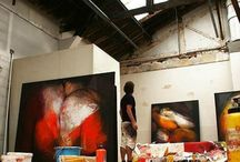 3. Interior Design - Art gallery exhibition / by Misha Kmps