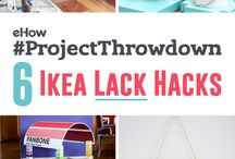 #ProjectThrowdown / We're challenging our top contributors to a #ProjectThrowdown! In this Chopped-style contest, we're giving these brilliant DIYers 4 mystery materials that they must use to create something new! Vote by pinning your favorite project. Check out all the challenges and contributors works here: http://www.ehow.com/ehow-project-throwdown/