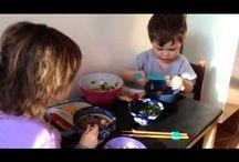 Kids cooking videos / Kids lead us down a tasty path