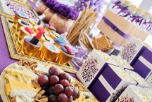 Beauty Party / Purple&Gold Concept