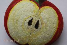 Apfel stein