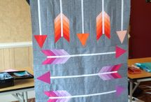 Modern Quilting / Samples and information on modern quilting styles, techniques, patterns, and fabric.