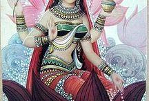 Diosas y dioses hindues
