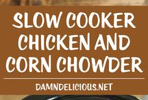 Slow Cooker / Crockpot recipes. Great recipes to put inyour Slow Cooker and forget about